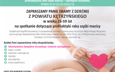 Profilaktyka raka szyjki macicy- spotkanie w Srokowie